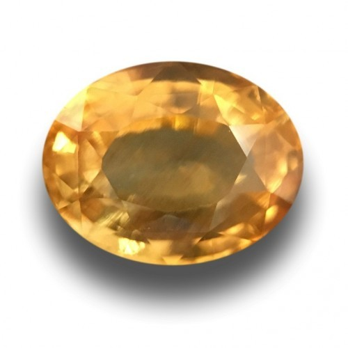 2.24 CTS | Natural Yellow sapphire |Loose Gemstone|New| Sri Lanka