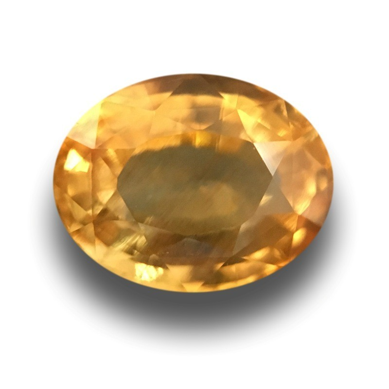 2 24 Cts Natural Yellow Sapphire Loose Gemstone New