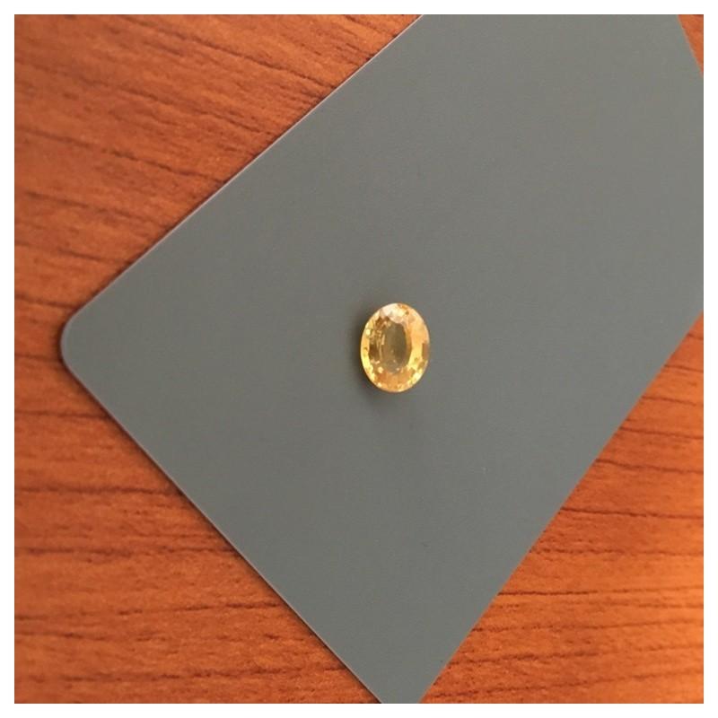 2.24 CTS   Natural Yellow sapphire  Loose Gemstone New  Sri Lanka