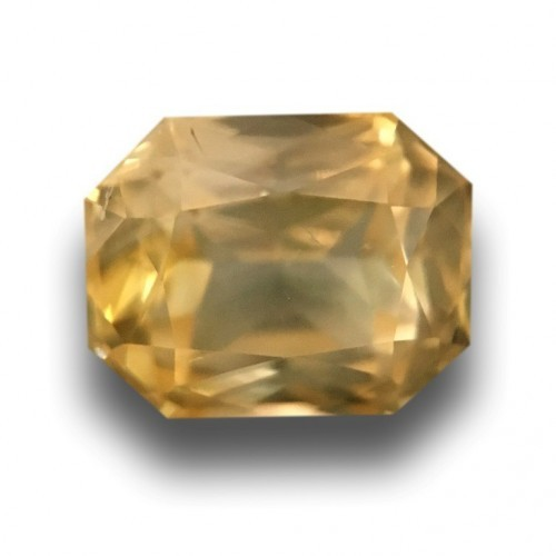 1.52 CTS | Natural Yellow sapphire |Loose Gemstone|New| Sri Lanka