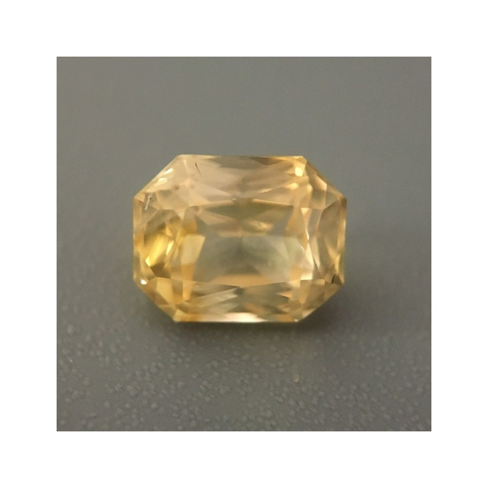 1 52 Cts Natural Yellow Sapphire Loose Gemstone New