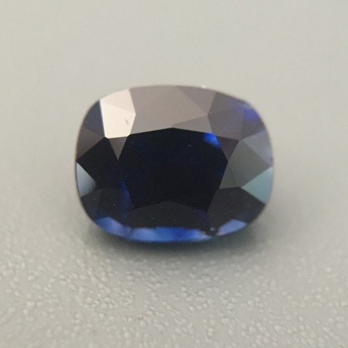 1.18 Carats Natural Medium Dark Blue Sapphire |Gemstone|Certified| Sri Lanka