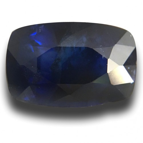 1.96 Carats Natural Medium Blue sapphire |Loose Gemstone|New Certified| Sri Lanka