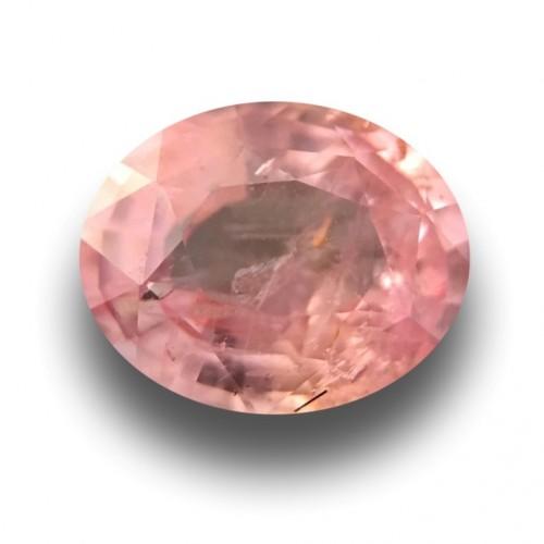 1.37 CTS | Natural Orange Pink sapphire |Loose Gemstone|New| Sri Lanka