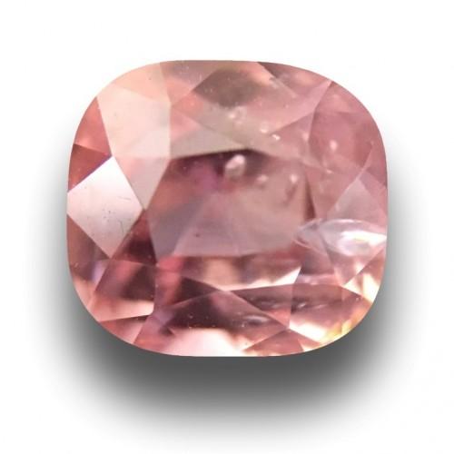 1.29 CTS | Natural Unheated Pinkish Orange sapphire |Loose Gemstone|New| Sri Lanka