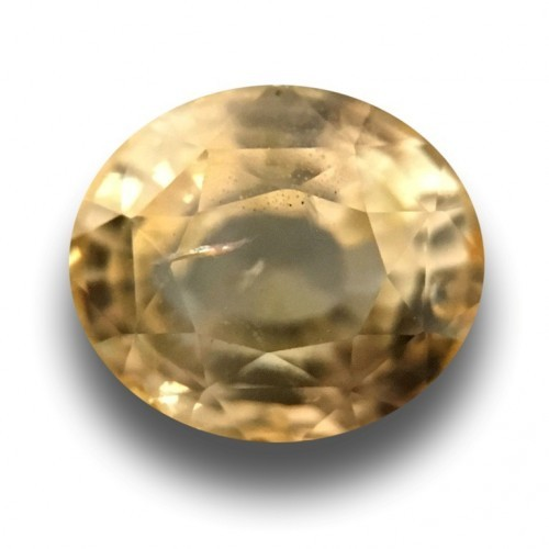 1.47 Carats Natural Unheated yellow sapphire |New Certified| Sri Lanka