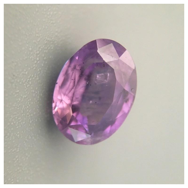 3.31 Carats Natural purple sapphire |Loose Gemstone|New Certified| Sri Lanka