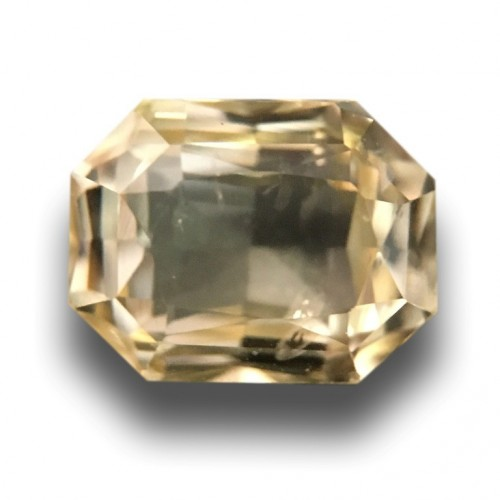1.48 CTS   Natural Unheated Yellow sapphire  Loose Gemstone New  Sri Lanka
