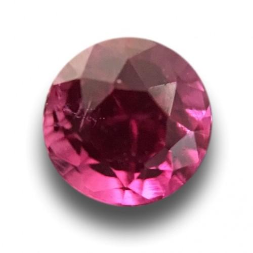 0.4 CTS   Natural Purplish Pink sapphire  Loose Gemstone New  Sri Lanka