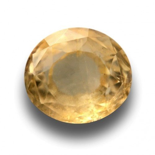 2.48 CTS | Natural Unheated Yellow sapphire |Loose Gemstone|New| Sri Lanka