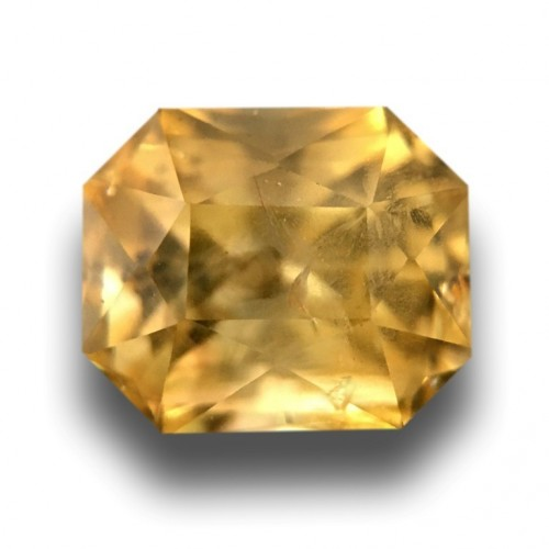 1.88 CTS | Natural Unheated Yellow sapphire |Loose Gemstone|New| Sri Lanka