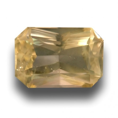 1.82 CTS | Natural Unheated Yellow sapphire |Loose Gemstone|New| Sri Lanka