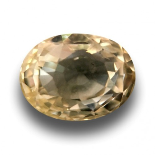 2.01 CTS | Natural Unheated Yellow sapphire |Loose Gemstone|New| Sri Lanka