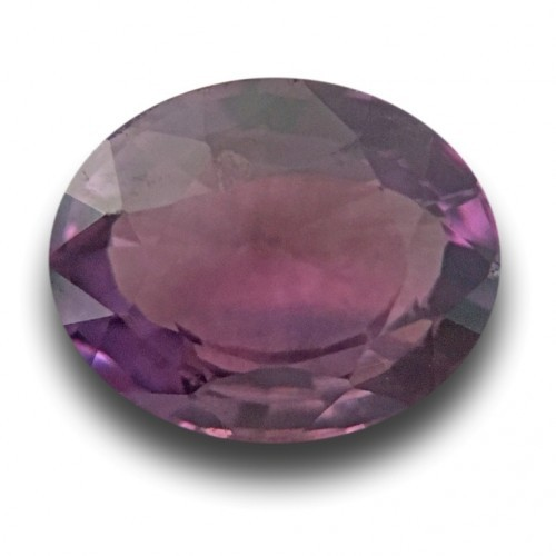 1.34 Carats Natural purple sapphire |Loose Gemstone|New Certified| Sri Lanka