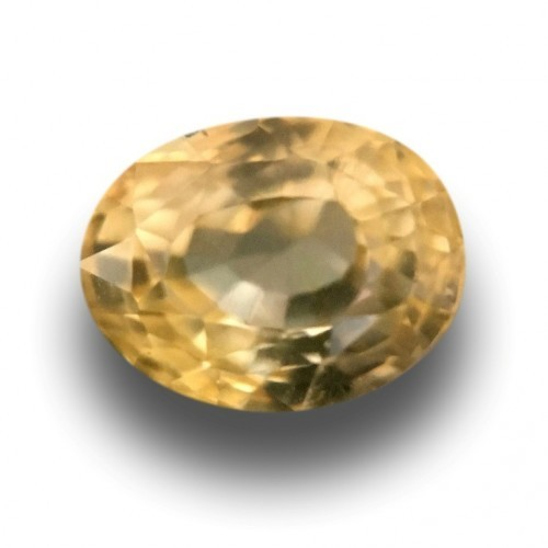 1.32 CTS | Natural Unheated Yellow sapphire |Loose Gemstone|New| Sri Lanka