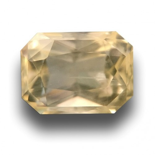 2.02 Carats Natural yellow sapphire |Loose Gemstone|New Certified| Sri Lanka
