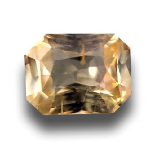 1.11 CTS | Natural Unheated Yellow sapphire |Loose Gemstone|New| Sri Lanka