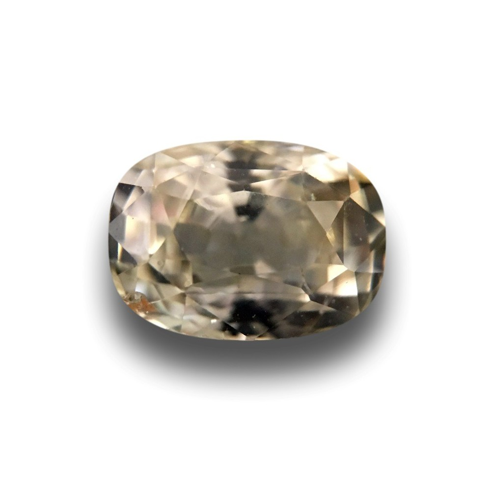 Carats Natural light yellow sapphire |Loose Gemstone|New Certified ...