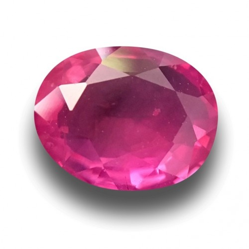 1.09 Carats Natural Pink sapphire |Loose Gemstone|New Certified| Sri Lanka
