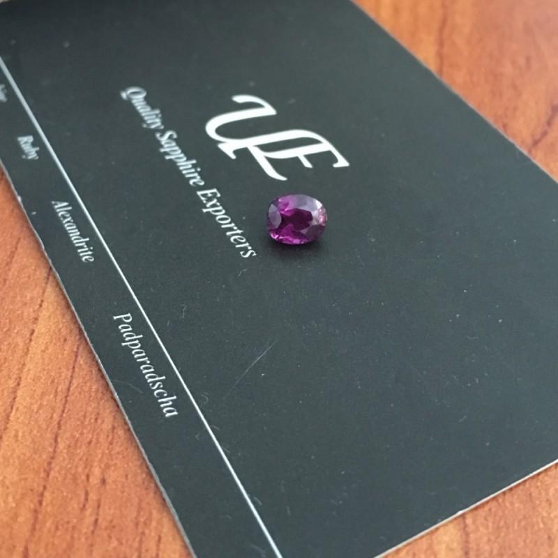 1.11 CTS | Natural Pink sapphire |Loose Gemstone|New| Sri Lanka