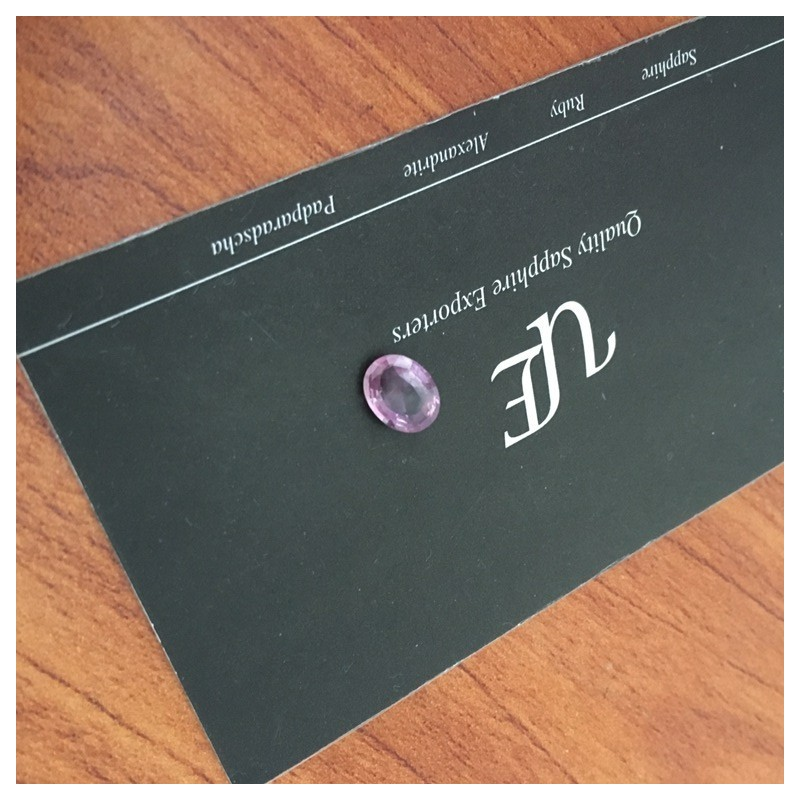 1.58 CTS   Natural Pink sapphire  Loose Gemstone New  Sri Lanka