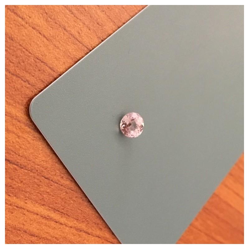 0.95 CTS   Natural Unheated Light Orange Pink sapphire  Loose Gemstone New  Sri Lanka