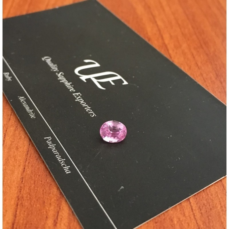 1.17 Carats Natural Pink sapphire |Loose Gemstone|New Certified| Sri Lanka