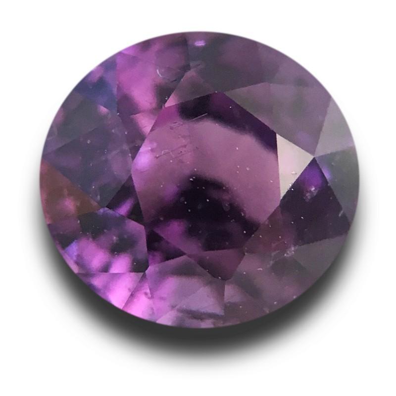 1.02 Carats Natural purple sapphire  Loose Gemstone New Certified  Sri Lanka