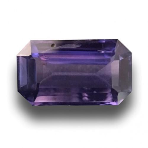 1.22 CTS   Natural Purple Sapphire  Loose Gemstone New  Sri Lanka