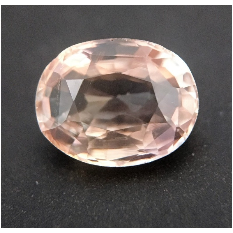 1.61 Carats Natural Pinkish yellow sapphire |Loose Gemstone|Certified| Sri Lanka
