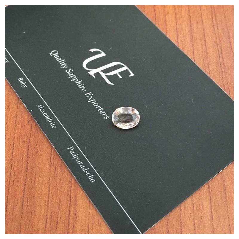 1.61 Carats |Natural Orange sapphire | Loose Gemstone |Certified | Sri Lanka-New