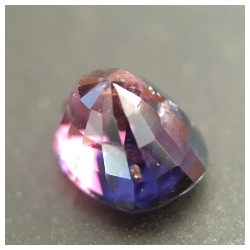 2.03 CTS   Natural Unheated purplish Pink Sapphire  Loose Gemstone New  Sri Lanka