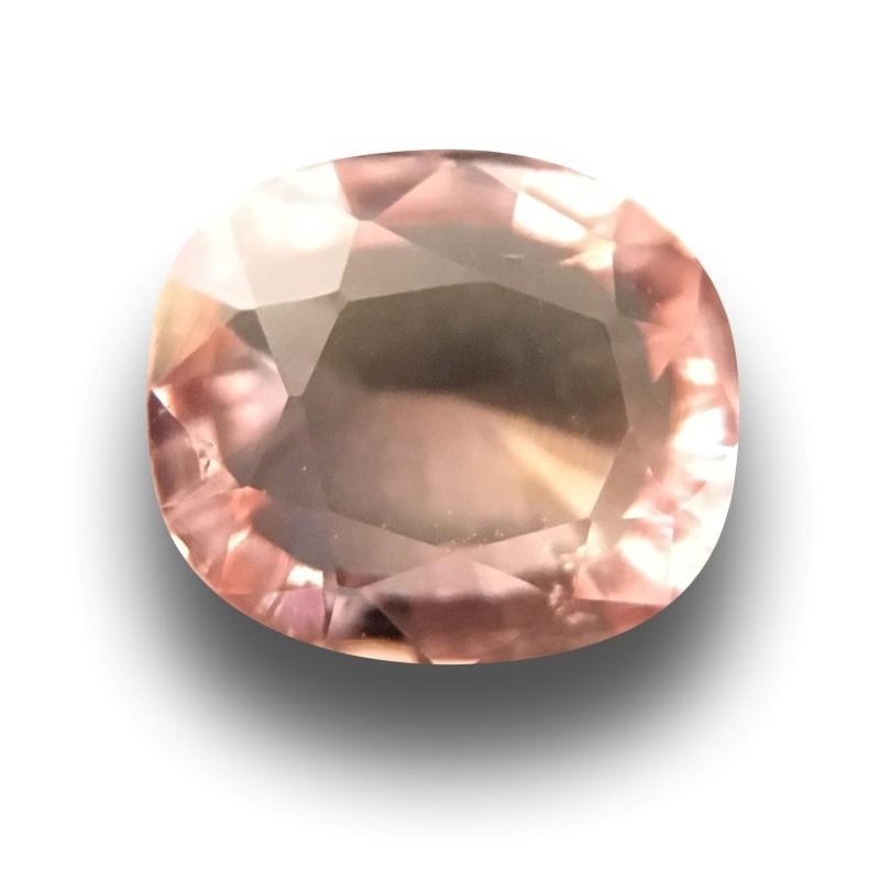 1.09 CTS | Natural Pinkish Orange Padparadscha |Loose Gemstone|New| Sri Lanka