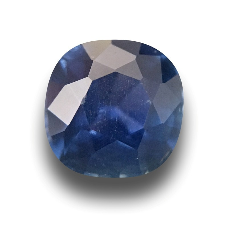 0.83 CTS | Natural Unheated Blue Sapphire |Loose Gemstone|New| Sri Lanka