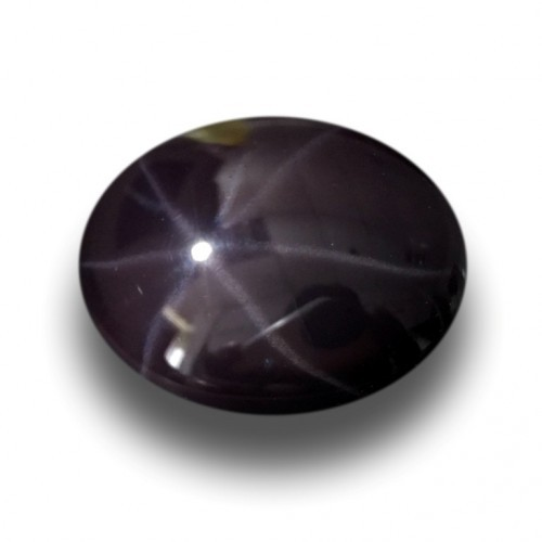 5.45 CTS | Natural Unheated Deep Purple Star Sapphire|New| Sri Lanka