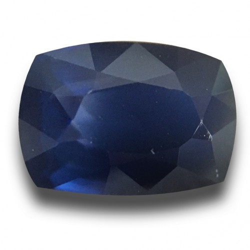 1.66 Carats  Natural Blue Sapphire Loose Gemstone New  Sri Lanka