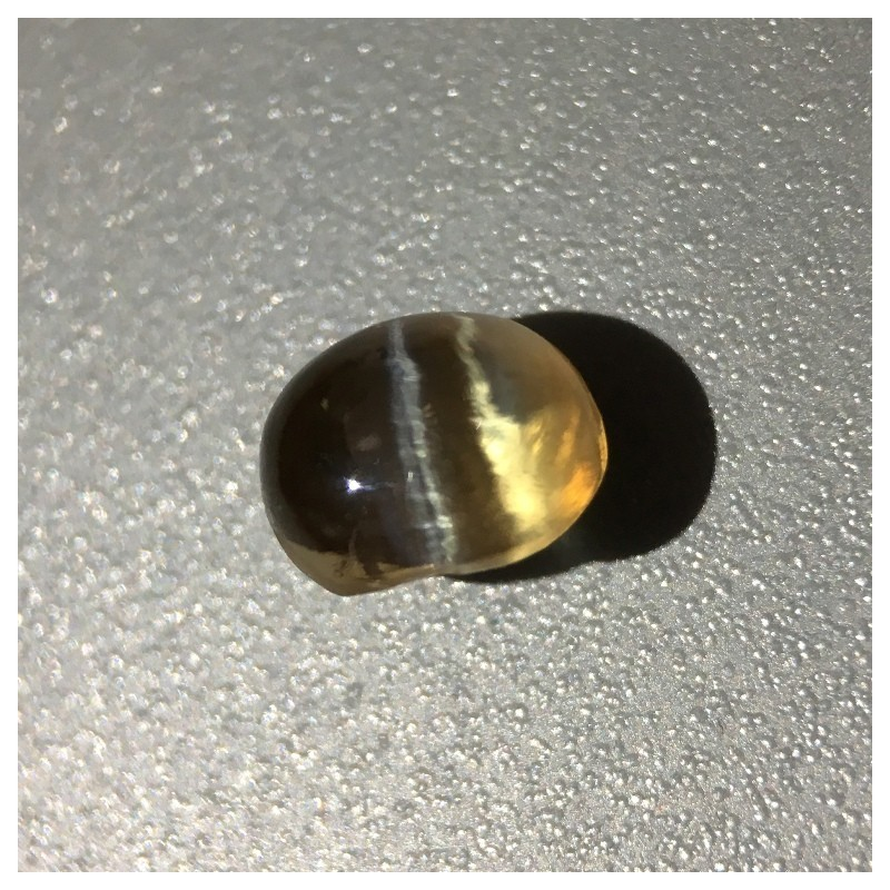 2.12 Carats Natural honey chrysoberyl Catseye |Loose Gemstone|New Certified| Sri Lanka