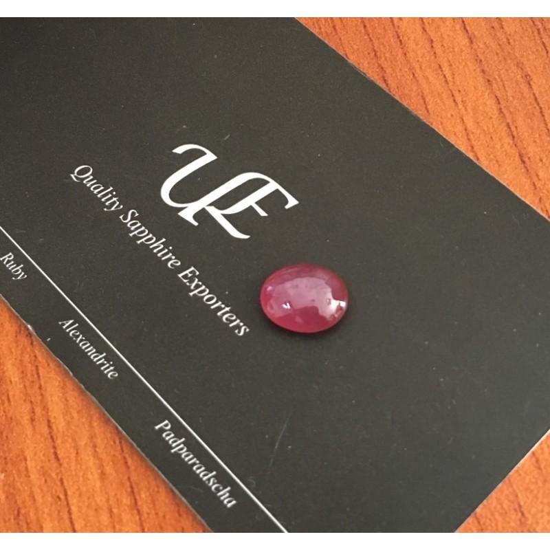 3.16 Carats Natural Reddish Orange Pink Pink Sapphire  Sri Lanka-New