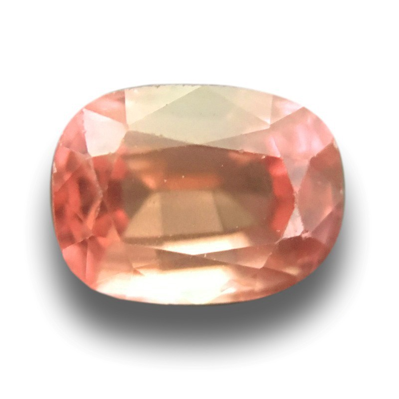 1.19 Carats |Natural Unheated Pinkish Orange Sapphire|New| Sri Lanka