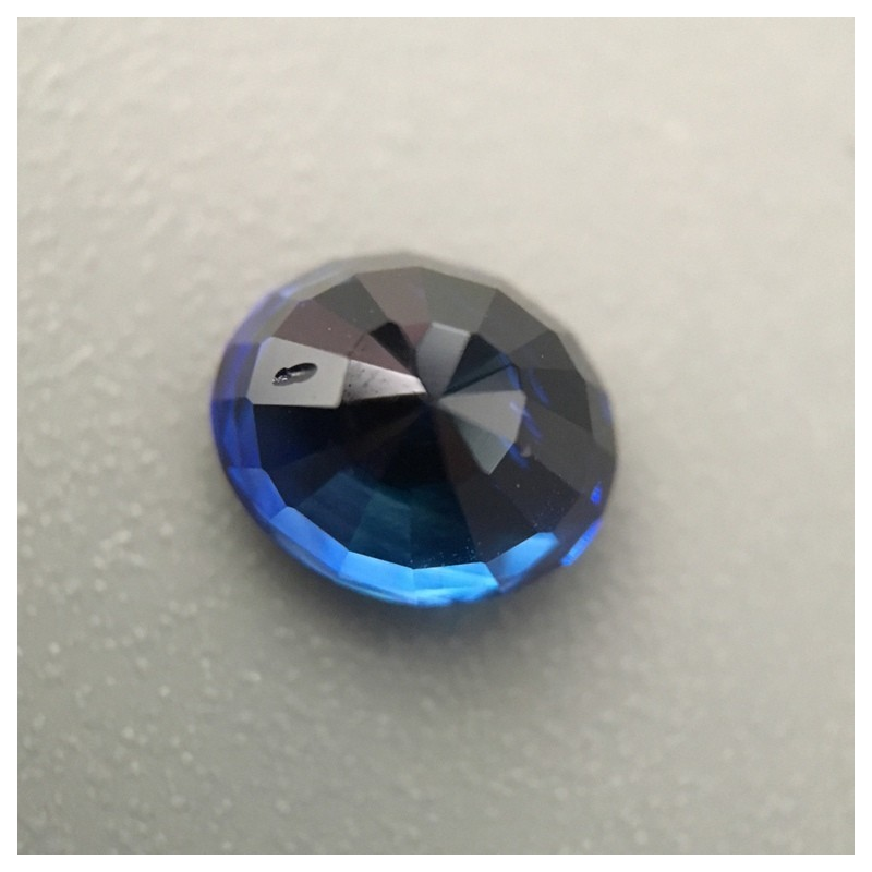 1.57 Carats Natural Deep Royal Blue Sapphire |Loose Gemstone|New| Sri Lanka