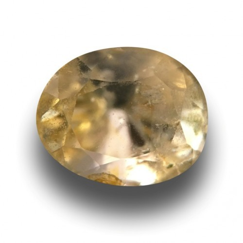 1.92 Carats|Natural Unheated Yellow Sapphire|Loose Gemstone|New|Sri Lanka