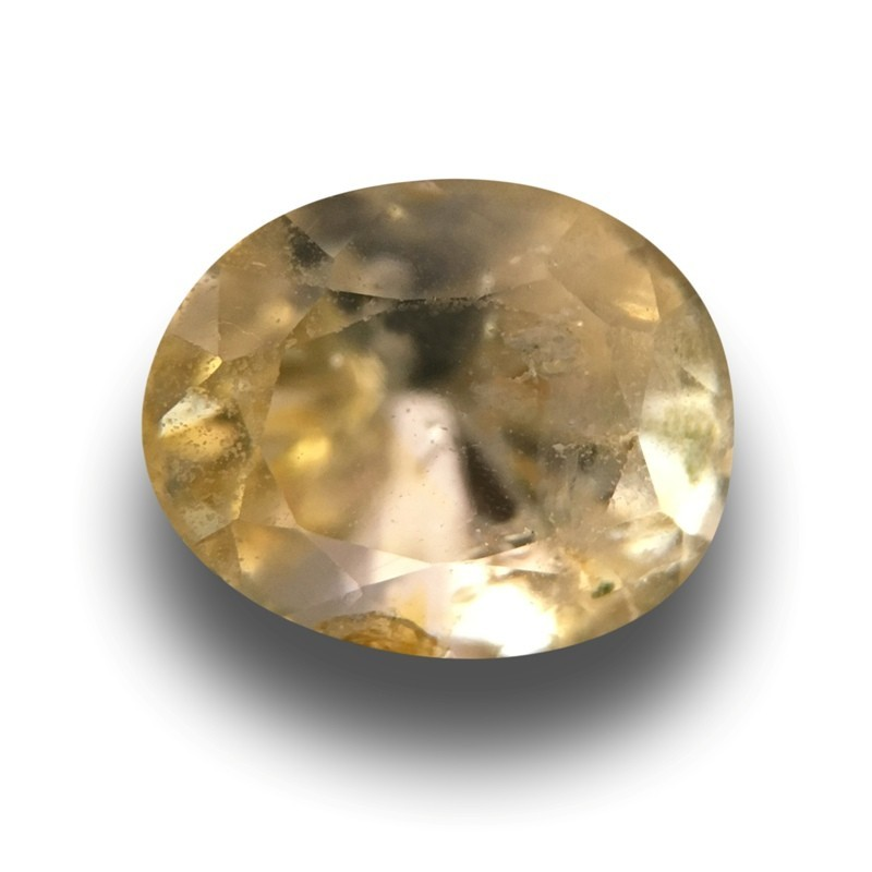 1.92 Carats|Natural Unheated Yellow Sapphire|Loose Gemstone|New|Sri Lanka