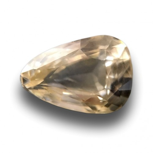 2.06 Carats|Natural Unheated Yellow Sapphire|Loose Gemstone|New| Sri Lanka