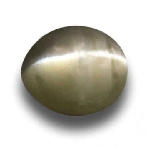 1.74 Carats Natural Unheated Green Catseye Loose Gemstone New Sri Lanka
