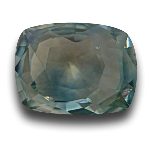 1.66 Carats Natural Bluish Green Sapphire Loose Gemstone New Sri Lanka