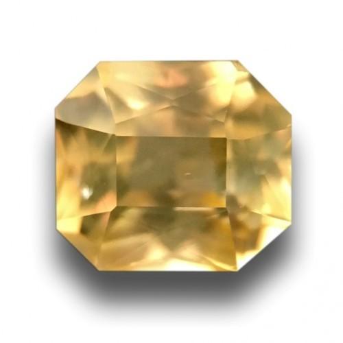 1.11 Carats|Natural Unheated Yellow Sapphire|Loose Gemstone|Sri Lanka-New