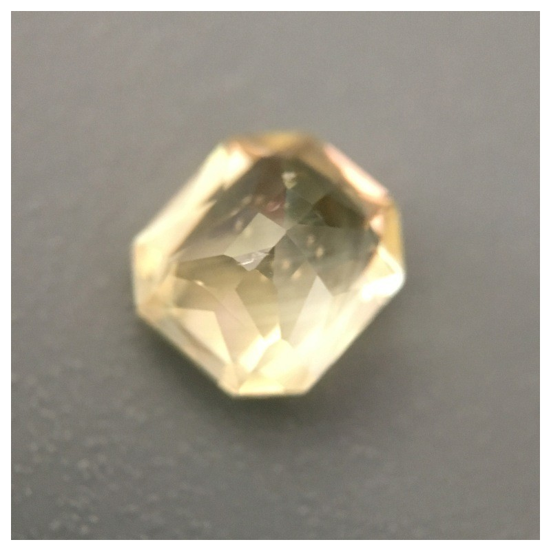 1.11 Carats|Natural Unheated Yellow Sapphire|Loose Gemstone|Sri Lanka-New