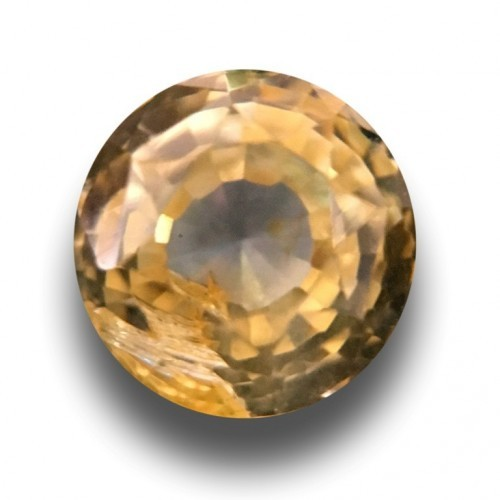 1.21 Carats|Natural Unheated Yellow Sapphire|Loose Gemstone| Sri Lanka- New