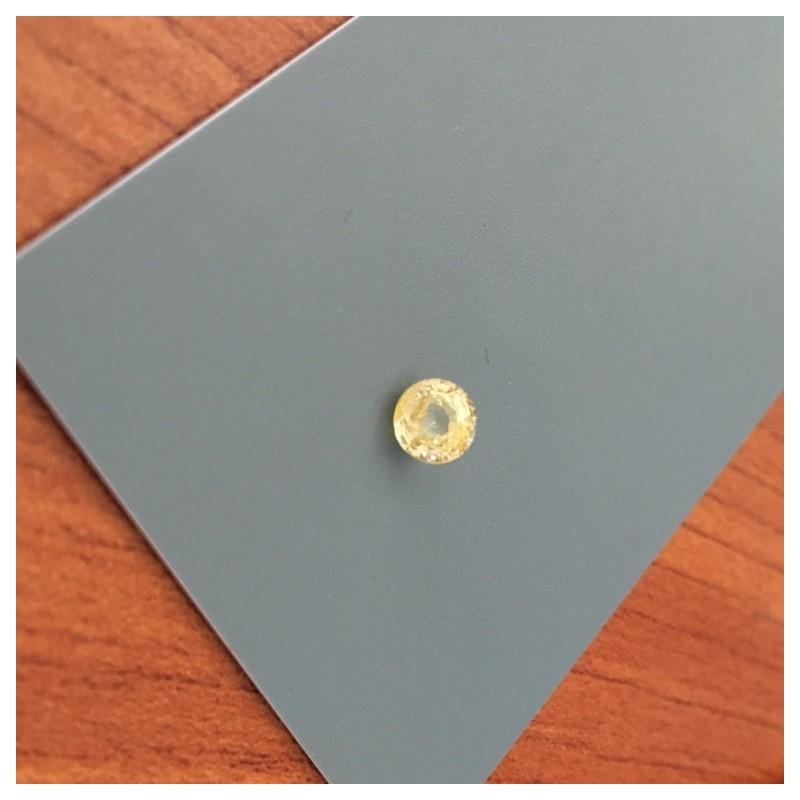 1.21 Carats Natural Unheated Yellow Sapphire Loose Gemstone  Sri Lanka- New