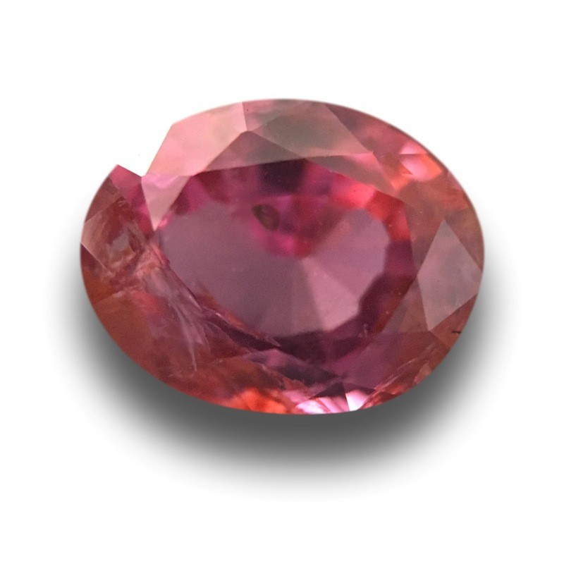 1.17 Carats|Natural Purplish Pink Sapphire|Loose Gemstone|Sri Lanka - New
